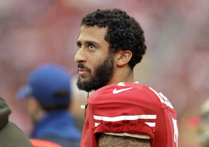 best loved 049be 2f613 Veterans Are Tweeting Their Support Of Colin Kaepernick ...