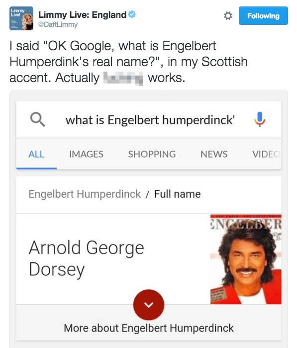 Google Are Working On A Scottish Accent Voice Recognition