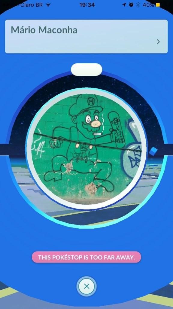 Se a Nintendo soubesse que dentro do seu próprio jogo de Pokémon há um Mário escondido dessa forma, ficaria doida!