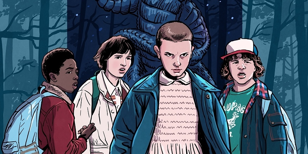 stranger things tumblr, série stranger things, resenha stranger things,séries netflix, 1 temporada stranger things