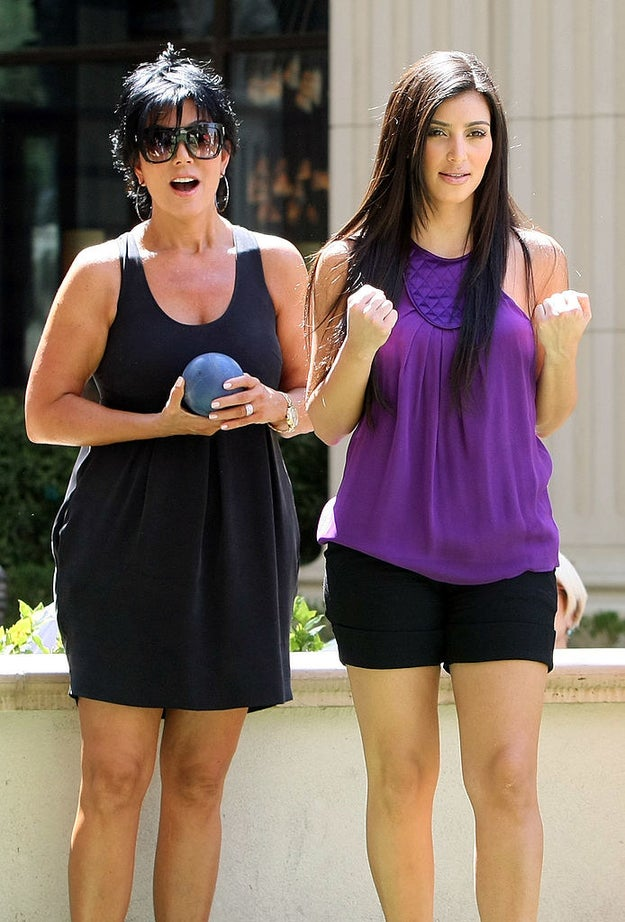 Have a competitive game of boules with Kris Jenner.
