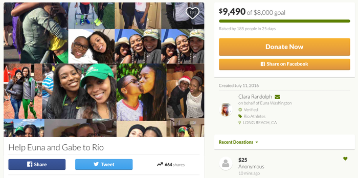 Clara Randolph, a family friend, started a GoFundMe page to help them get there.And in just 25 days, they reached and surpassed their goal of $8,000. A total of 185 people contributed to the campaign.