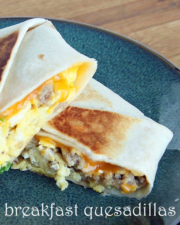 To-Go Breakfast Quesadillas