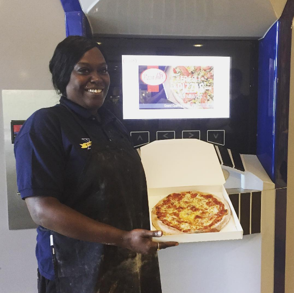 While pizza ATMs have been around in Europe for about 14 years, the Ohio university is responsible for bringing the first pizza ATM to the USA.