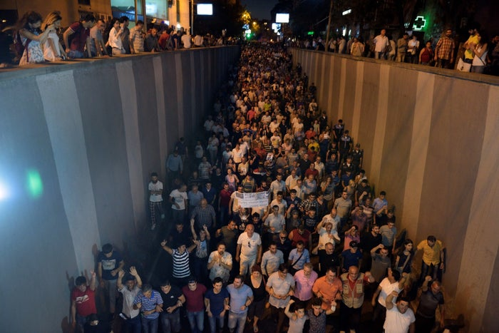 The situation began with a hostage situation and only spiraled from there. Armed supporters of a fringe opposition leader stormed a police station on July 17 and took nine hostages. On the streets, people gathered first in support of a peaceful solution to the crisis, then to call on all political prisoners to be released, eventually calling for the Armenian president's resignation.