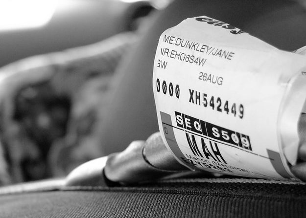 Remove all old airline tags before you add a new one.