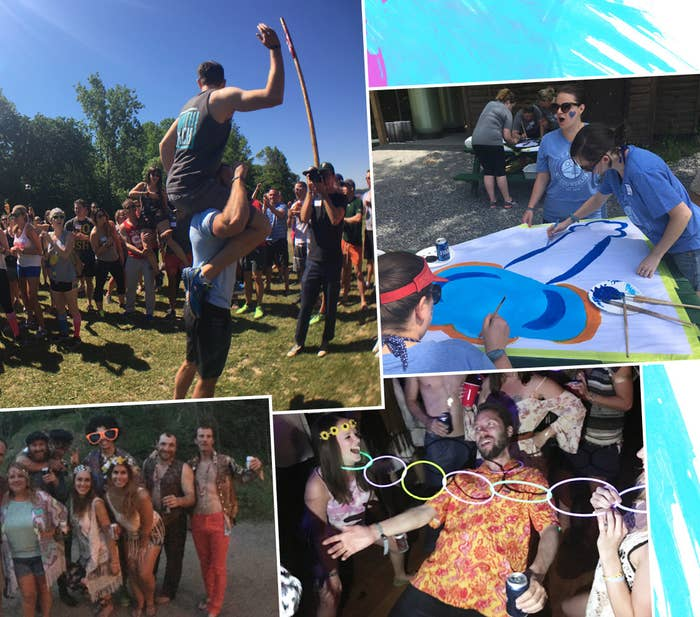 I Went To A Summer Camp For Adults And It Was Weird