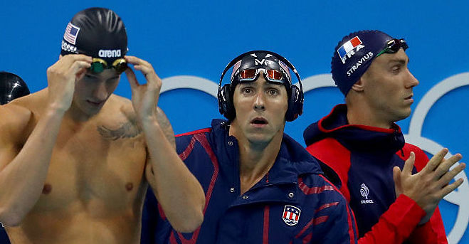 Michael Phelps Made A Grumpy Face Before His Race And People Loved It