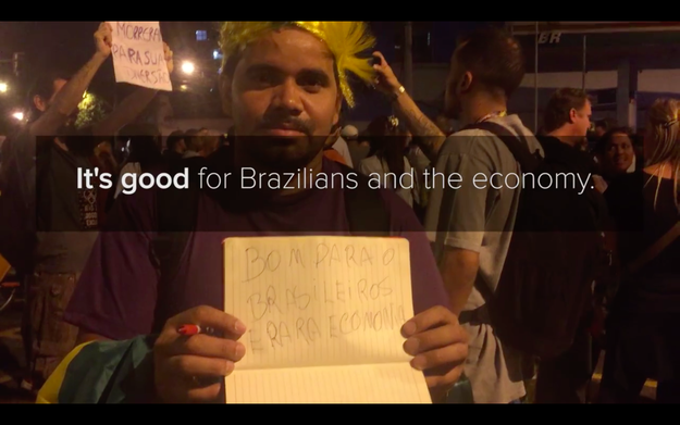 BuzzFeed News asked Brazilian fans if they think the Olympics were worth it and if it was something they would be proud of.