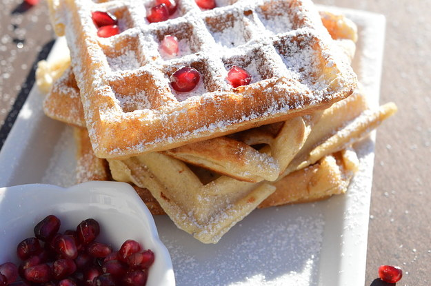 waffles or pancakes 1 basic pancakes whisk 1 1/2 cups flour, 3 tablespoons sugar, 1 tablespoon baking powder and 1/2 teaspoon salt whisk 1 1/4 cups milk, 1/2 stick melted butter, 2 eggs and a little vanilla, then.