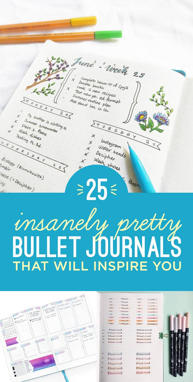 25 Satisfying Bullet Journal Layouts That\'ll Soothe Your Soul