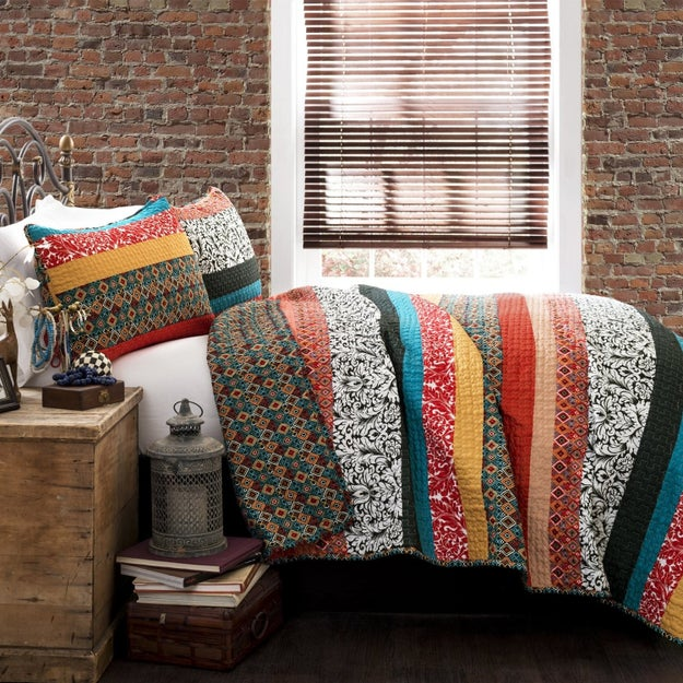 Bedding that looks like it came from Anthropologie (but at half the price).