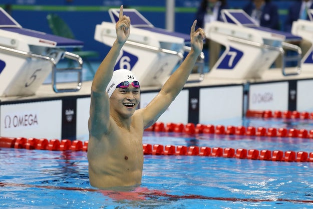 But while watching the Olympic swimming events, you may have noticed that a bunch of the medalists...