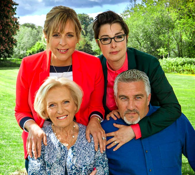 The Great British Bake Off, one of the BBC's most popular shows.