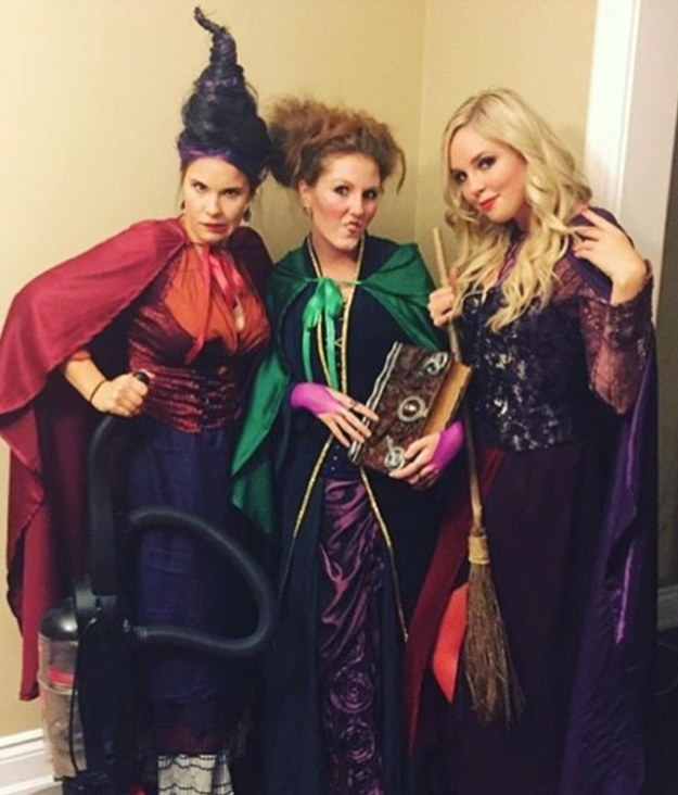 These Sanderson Sisters who will DEFINITELY put a spell on you: