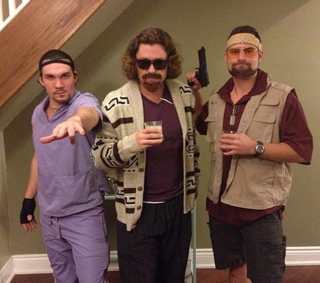 The gang from The Big Lebowski: