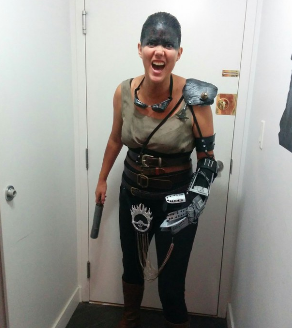 This badass Furiosa costume: