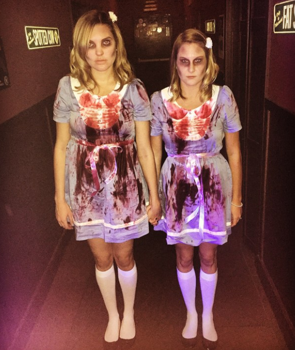 And the Grady Twins from The Shining: