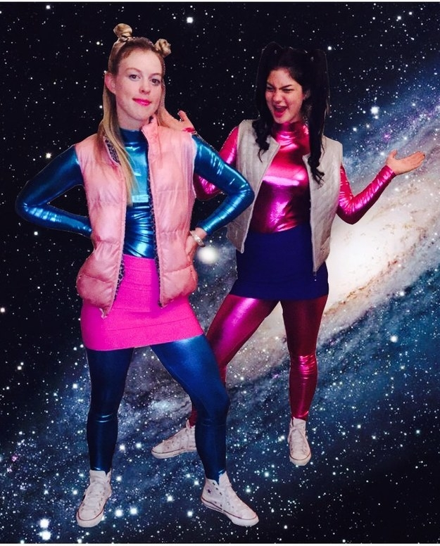 These Zenon outfits that are totally out of this world: