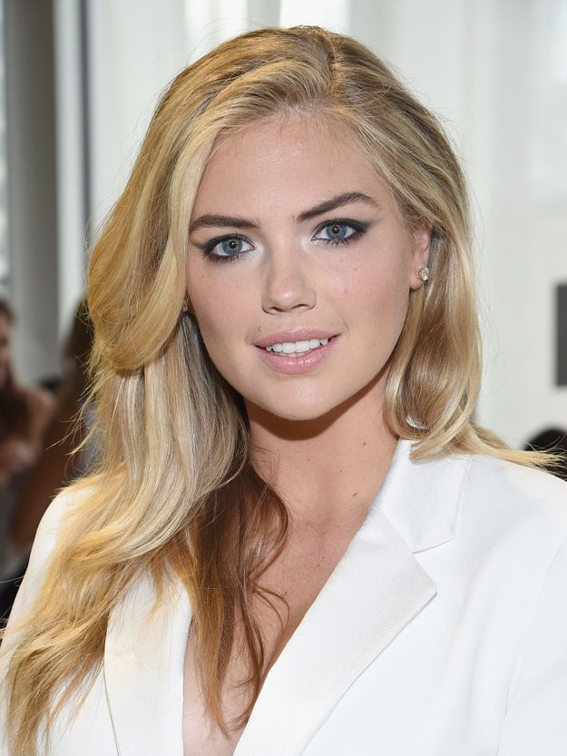 Model and actor Kate Upton triggered a social media uproar over the weekend.