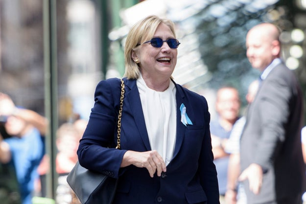 On Sunday, Hillary Clinton's team announced she had pneumonia after she left a 9/11 tribute early. The presidential candidate later made an appearance looking better outside her daughter's New York City home.