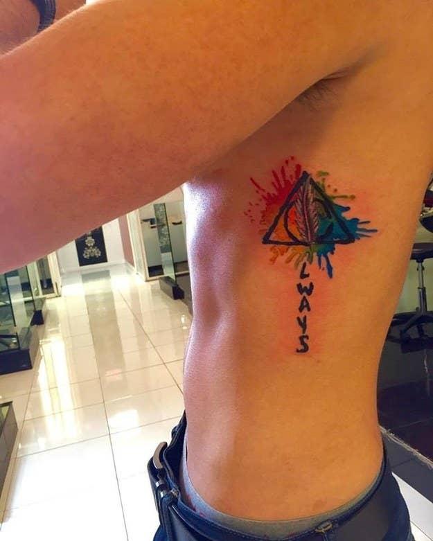 37 Lindos Tatuajes De Acuarela De Los Que Te Enamorarás