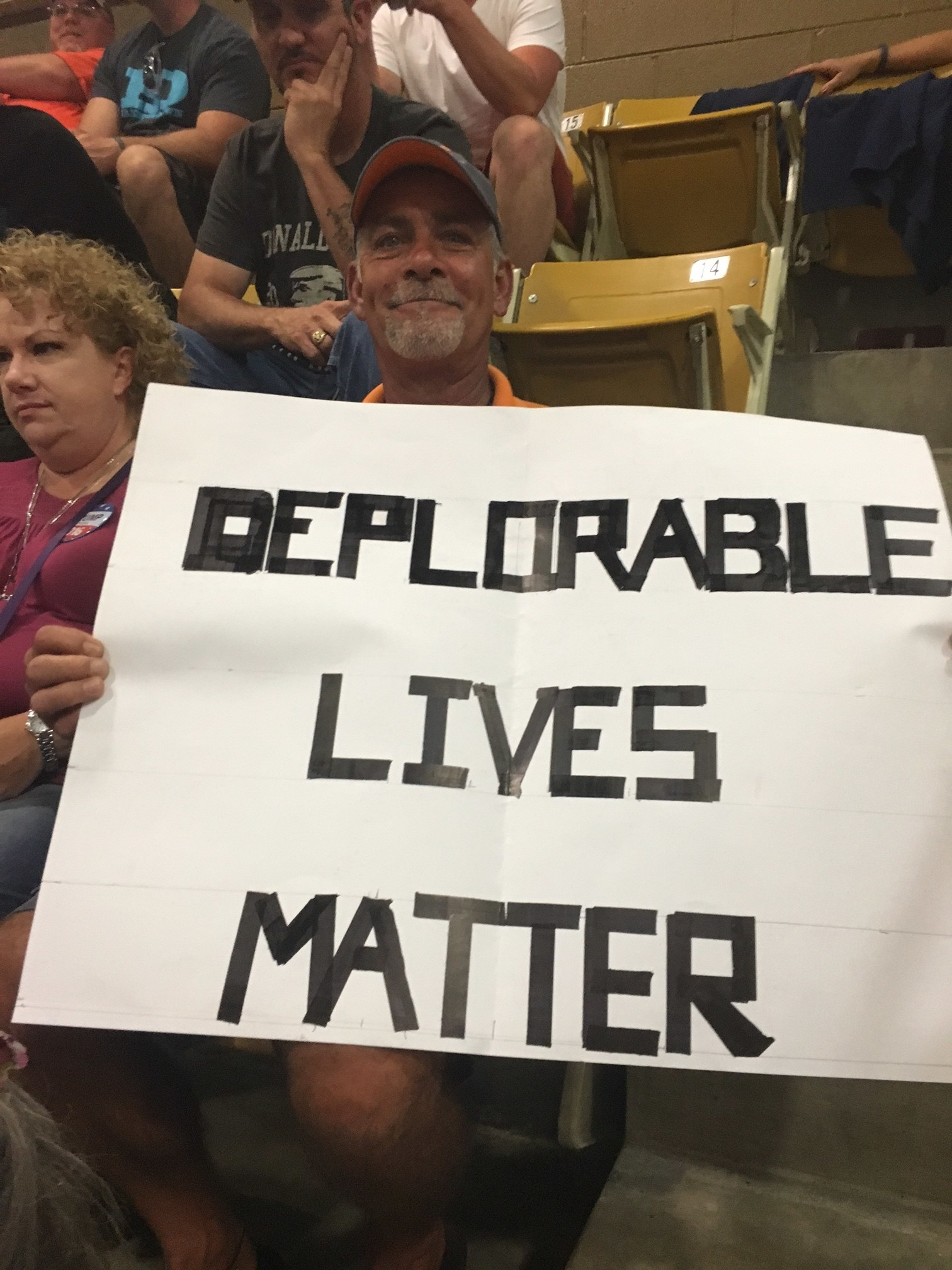 """Trump Supporters Fire Back At Clinton Over """"Basket Of Deplorables"""" Label"""