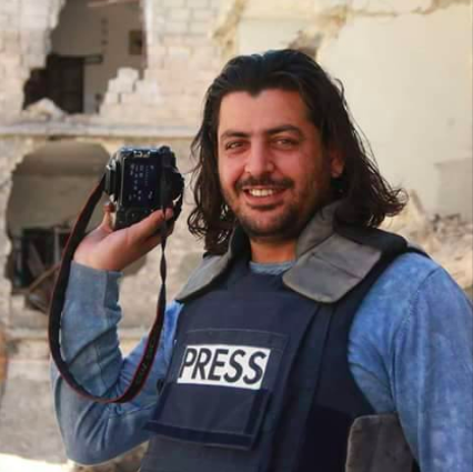 Shamel al-Ahmad was a 35-year-old Syrian photographer and activist. He was based in Aleppo.