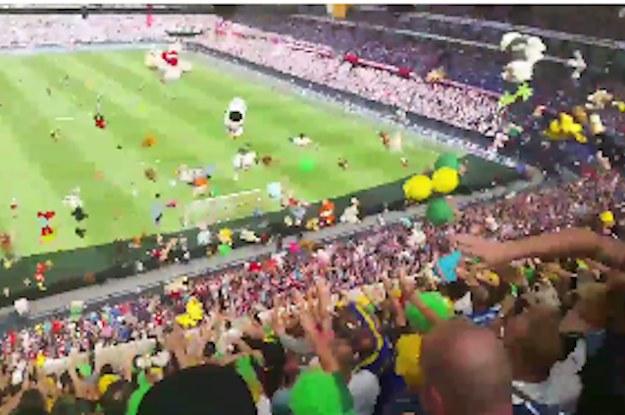 Diese Fußballfans Brachten Die Süßeste Aktion Für Kranke Kinder