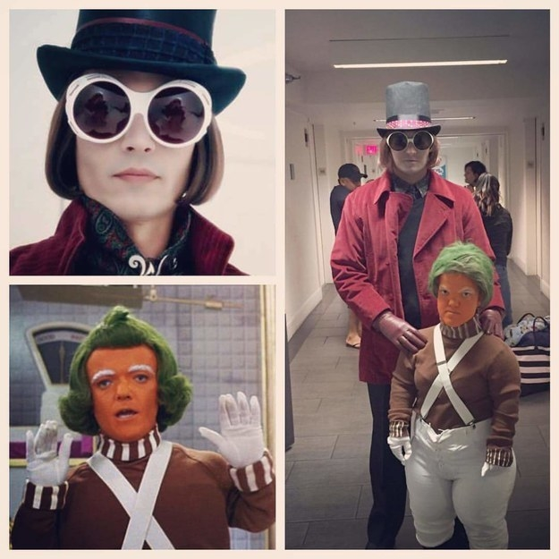 Willy Wonka and an Oompa Loompa