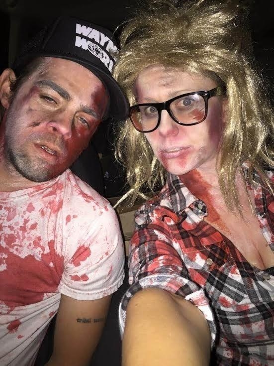 Zombie Wayne and Garth