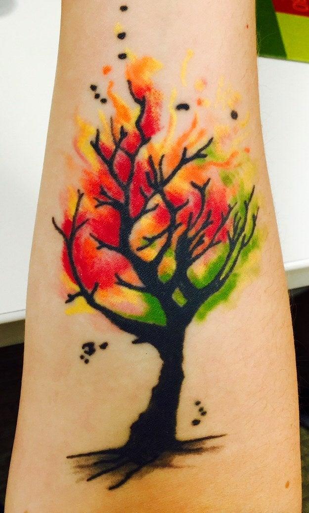 Einfach Nur 37 Megaschone Watercolor Tattoos
