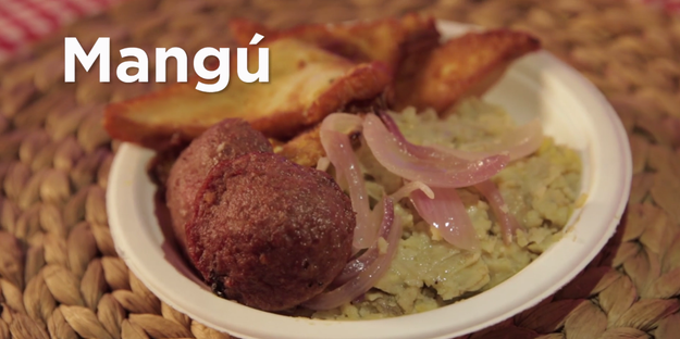 First up was the famous Mangú.