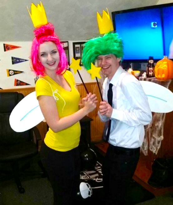 Cosmo and Wanda from The Fairly OddParents