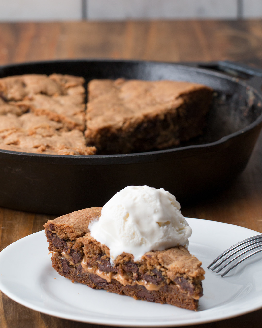 This Peanut Butter-Stuffed Skillet Cookie Is A Dessert You Need