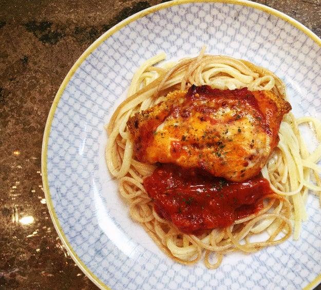 Blac Chyna's Chicken Parmigiana