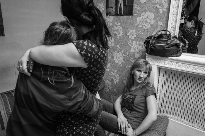 Nastia, 26, is HIV-positive and works at a lower-end brothel. In Dnipropetrovsk, there are 200 brothels that employ an average of 20 to 30 sex workers; all the brothels are owned by four individuals. Nastia's colleagues are unaware of her HIV status and so she receives treatment in private.