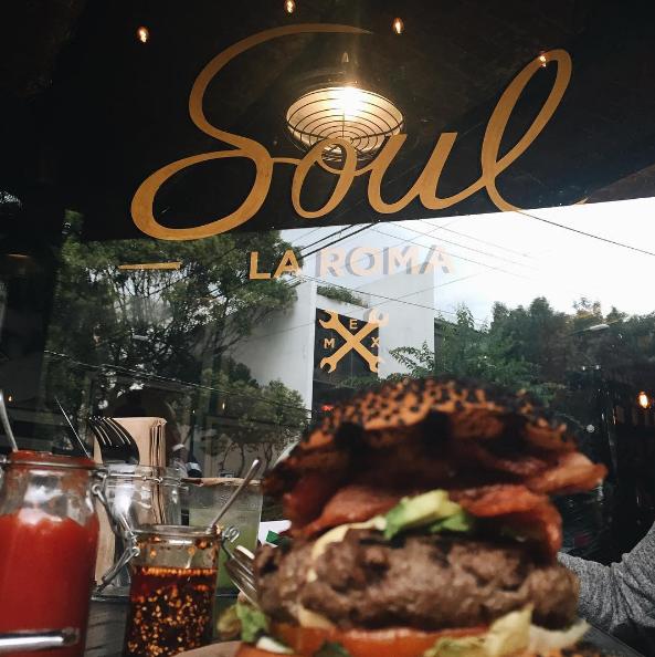 En la colonia Roma de la Ciudad de México existe un restaurante llamado Soul...