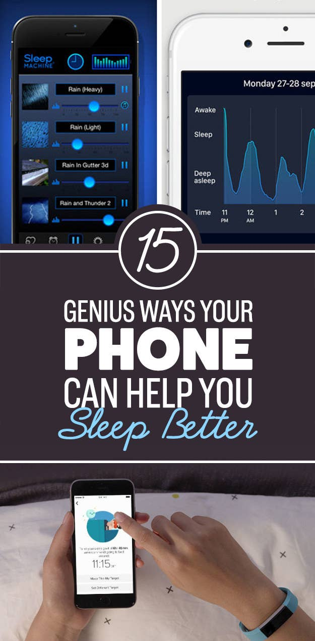 15 recommended ways your phone can help you sleep better