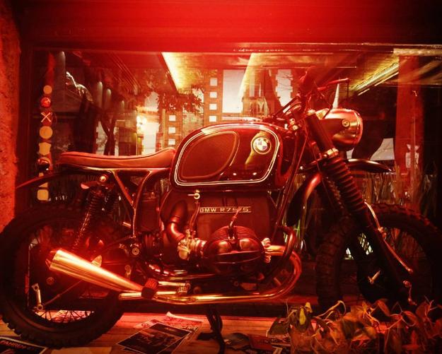 Sus fundadores tienen un taller que se especializa en hacer motos a la medida.