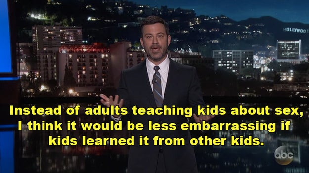 Last night on Kimmel Live!, Jimmy Kimmel took to the streets to ask youths one of life's most important questions: How are babies made?