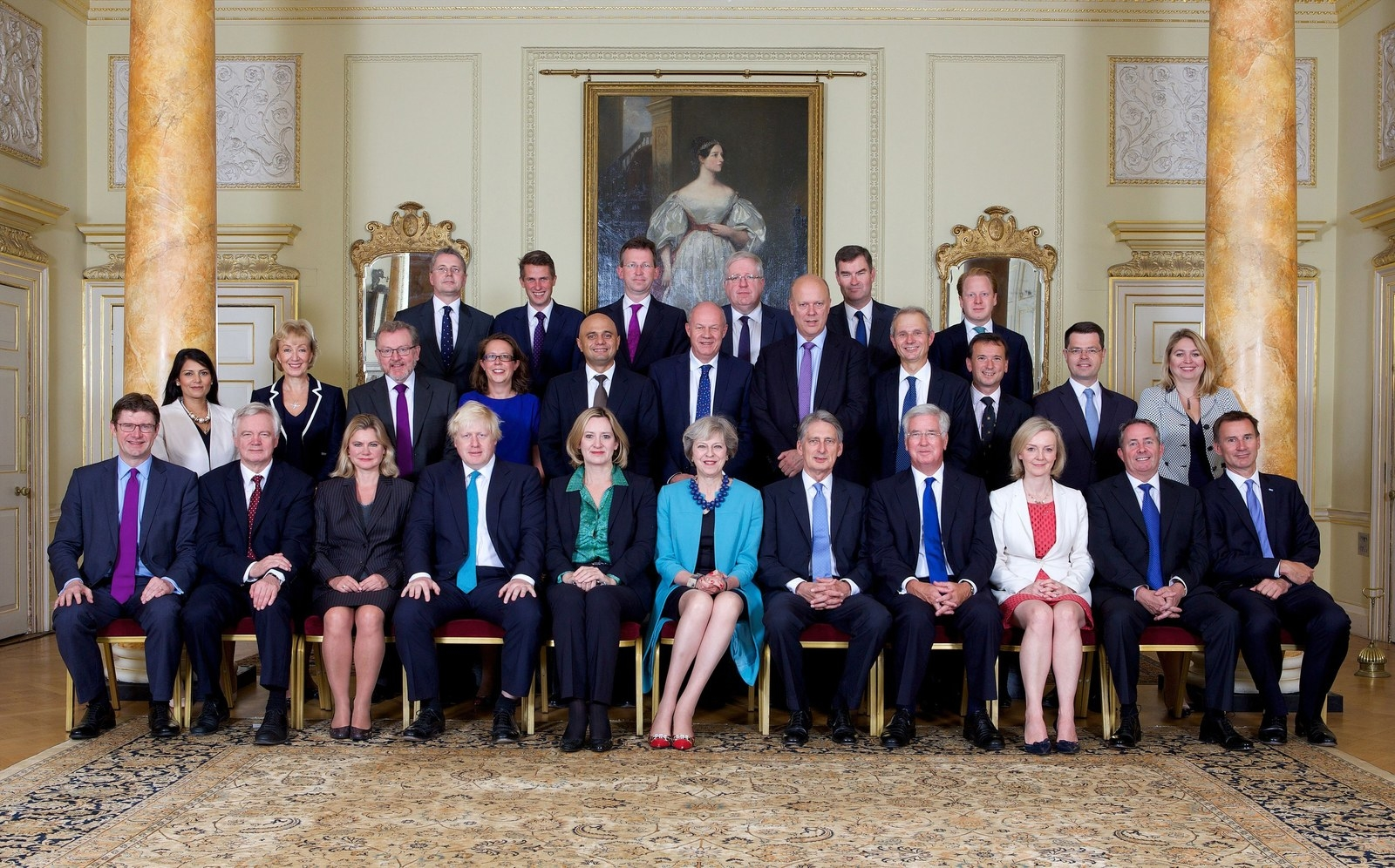 Superb You Know Your Way Around All The Middle Aged White Gentlemen Of The Cabinet.