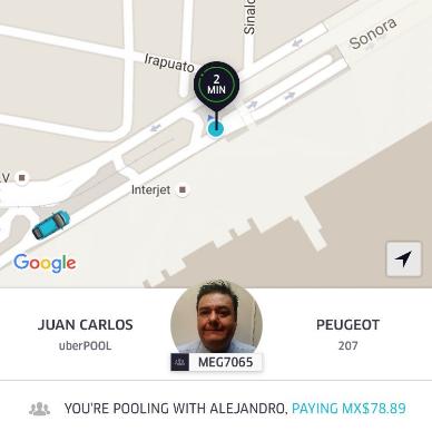 Todavía no defines tus sentimientos sobre UberPool.