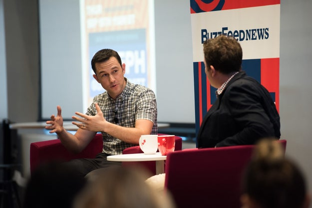 Here's what we learned about JGL, Edward Snowden, and the film during the interview.