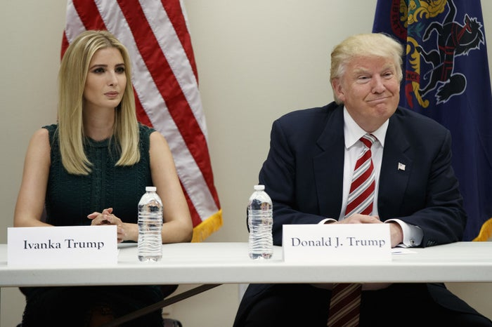 """After answering another question, Trump said she had to end the conversation.""""I'm going to jump off, I have to run. I apologize,"""" she said.Cosmopolitan published a transcript of the interview and also called on its readers to register to vote."""