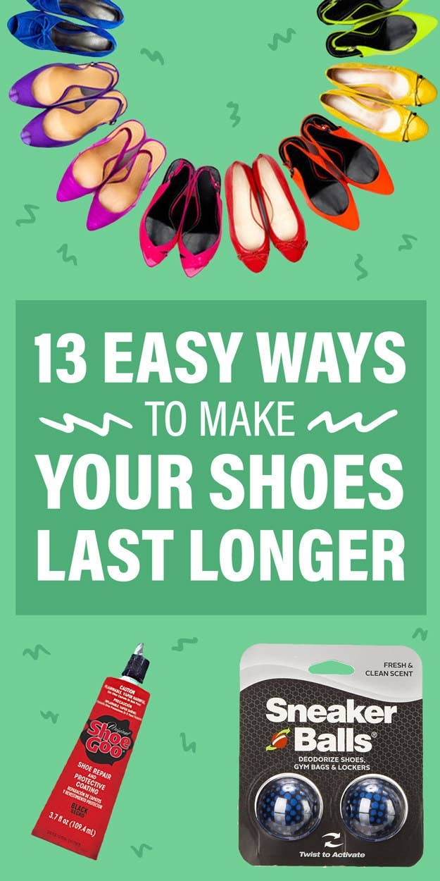 13 Inexpensive Ways To Make Your Shoes Last