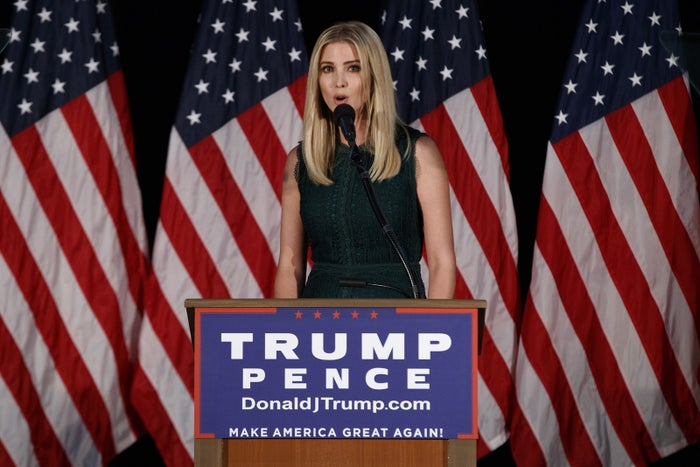 """Donald Trump has credited his oldest daughter with advocating for maternity leave, and in recent days she has joined him on the campaign trail. Under the Trump plan, parents would be able to deduct childcare expenses from their income taxes. The plan would also provide six weeks of paid leave to new mothers, which Trump has said would be """"completely self-financing"""" through recapturing fraud in the unemployment insurance system."""