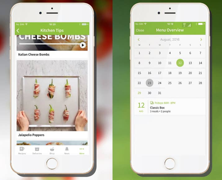 17 great apps for anyone trying to eat healthier hellofresh free ios android is a healthy meal kit delivery service for the busy bee who loves to cook forumfinder Gallery