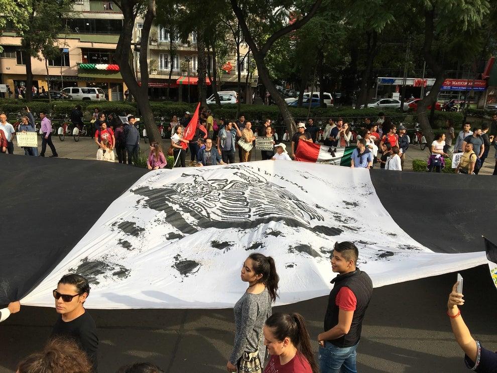 La bandera negra volvió a recorrer Reforma.