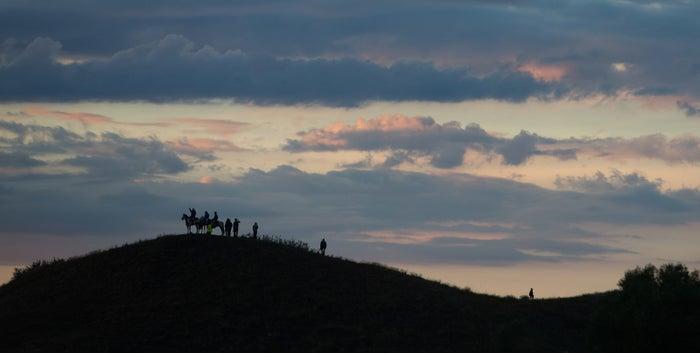 Sacred Stone Camp near Cannon Ball, North Dakota, September 9, 2016.